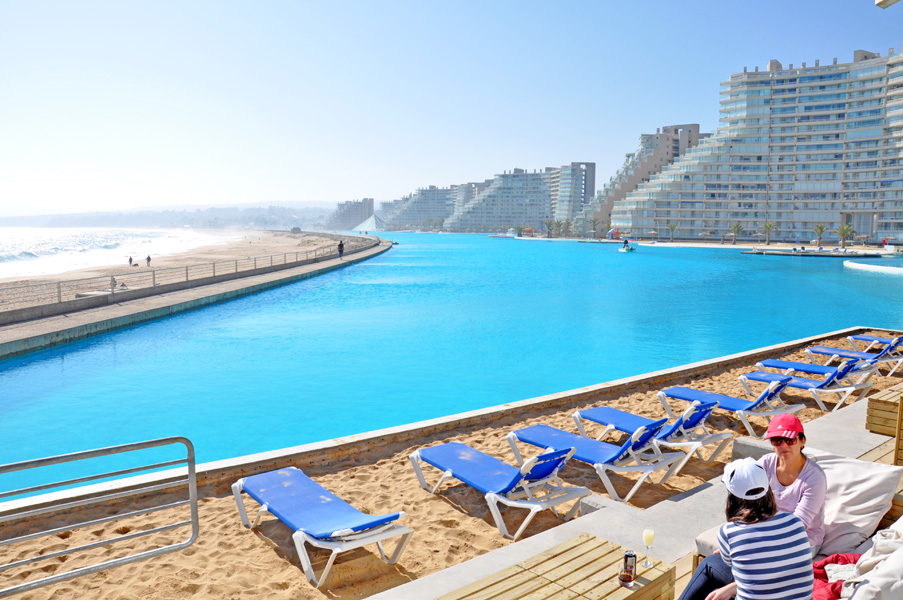 The San Alfonso del Mar Seawater Pool, Chile