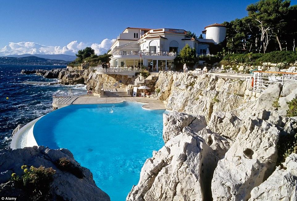 Hotel du Cap-Eden-Roc in Antibes, France