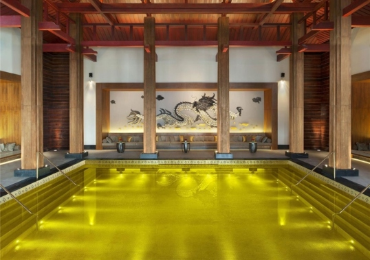 Gold Energy Pool at The St. Regis, Lhasa, Tibet