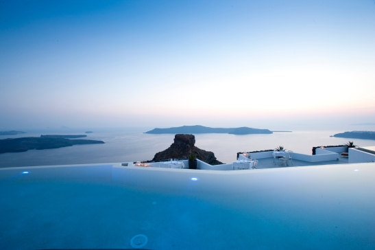 Infinity Pool at Grace Santorini, Greece