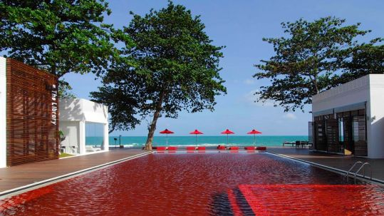 The Red Pool at Library Resort, Thailand