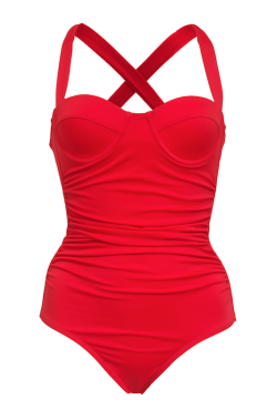 "Sexpot ""Monroe"" Ruched One-PIece"