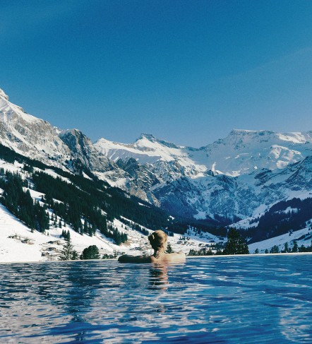 The Cambrian Hotel, Adelboden, Swiss Alps
