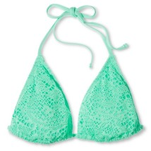 Mossimo's Crochet Triangle Bikini Top, $14.99