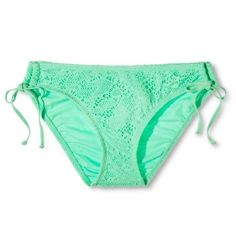 Mossimo's Crochet Triangle Bikini Bottom, $14.99