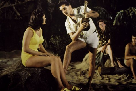 Joan Blackman & Elvis Presley in Blue Hawaii, 1961