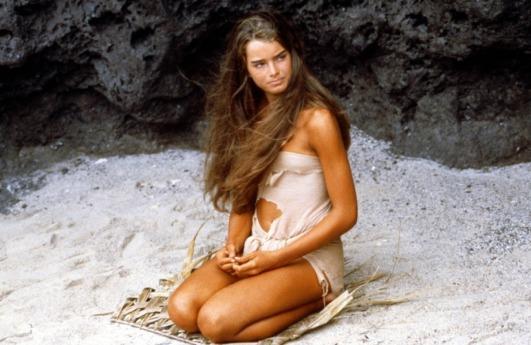 Brooke Shields in Blue Lagoon, 1980