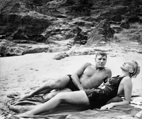 Burt Lancaster and Deborah Kerr in From Here to Eternity, 1953