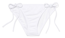 Victoria's Secret's Teeny Bikini Bottom in White, $18.50