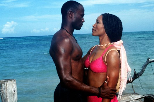 Taye Diggs and Angela Bassett in How Stella Got Her Groove Back, 1998
