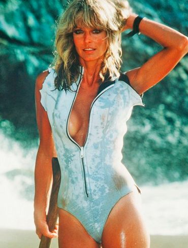Farrah Fawcett in Sunburn, 1979