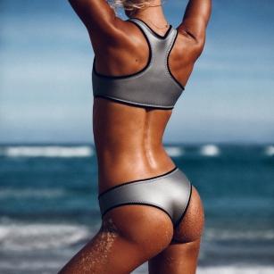 surfer, model, designer Hanalei Reponty of Abysse Official