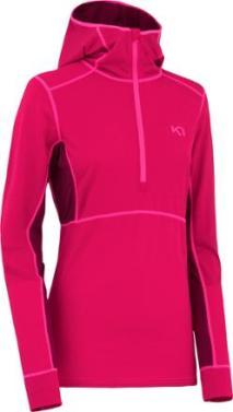 Kari Traa Svala Hooded Long Underwear Top in Rose