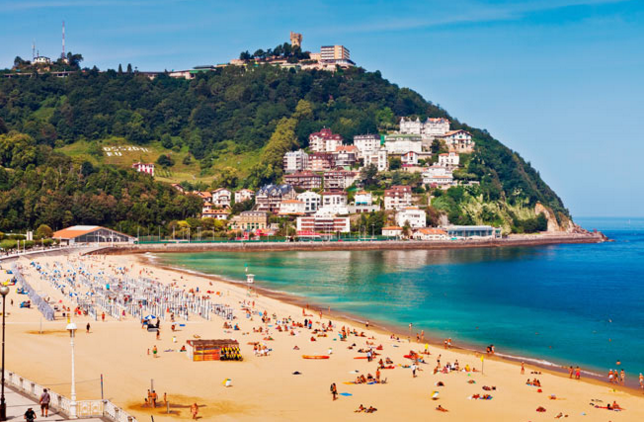 San Sebastián, Spain beach