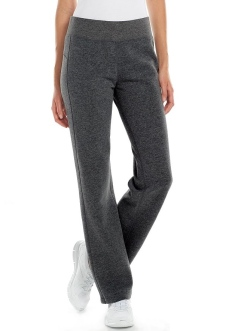 Tek Gear® Fleece-Lined Workout Pants in Dark Midnight Heather