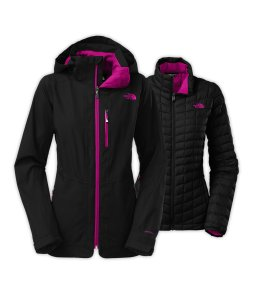 The North Face Thermoball™ Snow Triclimate® Parka in Black