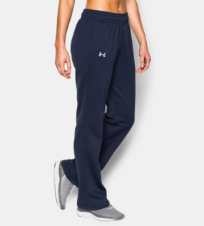 Under Armour Storm Armour® Fleece Pants in Midnight Navy