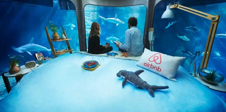 Underwater Airbnbs