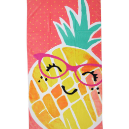 Evergreen Basics Miss Pineapple Beach Towel ($8.24)