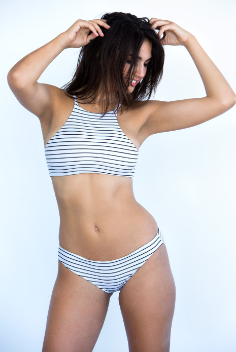 Free Bella striped bikini for summer 2016