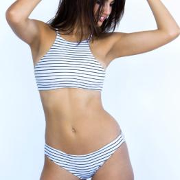 Free Bella striped bikini for summer 2016