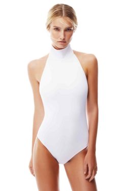 Oye Swimwear turtle neck one piece swimsuit for summer 2016