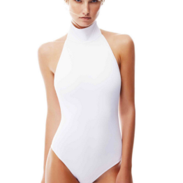 Oye Swimwear turtle neck one piece swimsuit for summer 2016