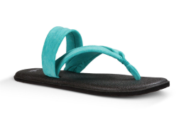 Sanuk Yoga Triangle Sandal in Turquoise ($36.00)