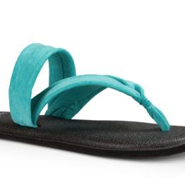 Sanuk Yoga Triangle Sandal in Turquoise ($36.00)