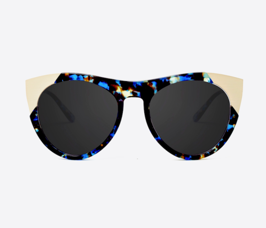 Smoke x Mirrors Zou Bisou Sunglasses in Blue Havana ($325.00)