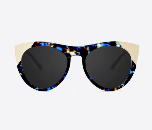 Smoke x Mirrors Zou Bisou Sunglasses in Blue Havana ($325.00)