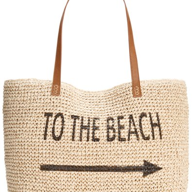 Style & Co. Straw Beach Bag ($36.99)