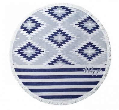 The Beach People Montauk Roundie Beach Towel ($110.00)