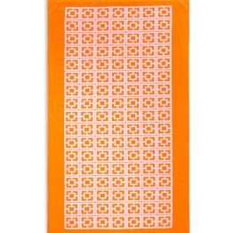 Trina Turk Palm Spring Block Beach Towel in Orange ($59.99)