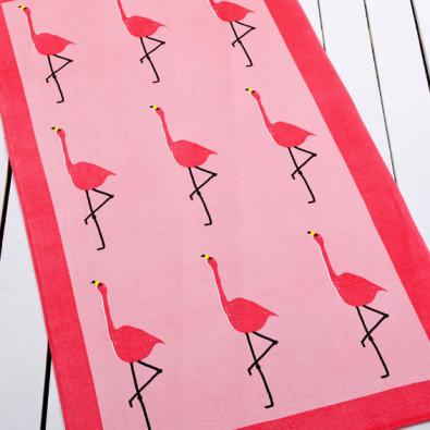 Whim by Martha Stewart Collection Flamingo Beach Towel ($19.99)