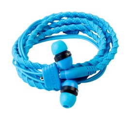 Wraps Wristband Headphones in Blue ($21.99)