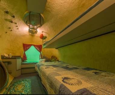 underwater hotel rooms at Jules' Undersea Lodge, Key Largo, Florida
