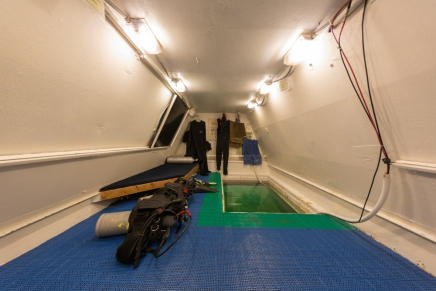underwater hotel rooms at Jules' Undersea Lodge, Key Largo, Florida