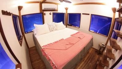 The Manta Resort underwater hotel room, Pemba Island, Zanzibar