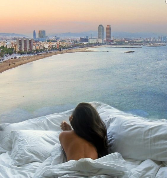 W Hotel Barcelona I Room Service: 15 Hotels Around the World With Spectacular Views