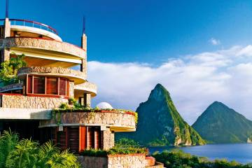 Jade Mountain Resort, St. Lucia, Caribbean I Room Service: 15 Hotels Around the World With Spectacular Views