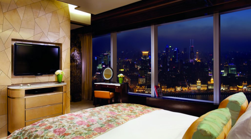 Ritz Carlton Shanghai, China I Room Service: 15 Hotels Around the World With Spectacular Views
