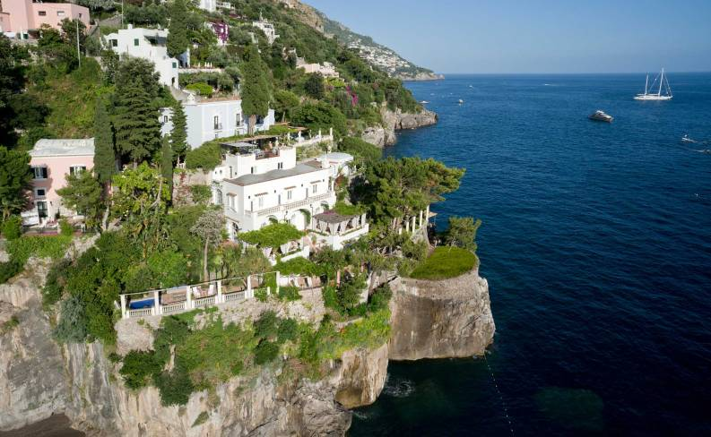 Villa Treville, Positano, Italy I Room Service: 15 Hotels Around the World With Spectacular Views