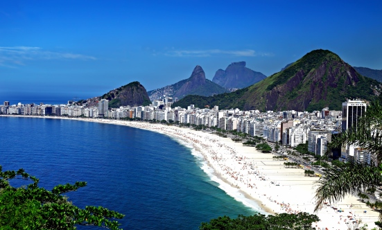 Copacabana Beach I Not at the Olympics? Live Vicariously Through Our Brazilian Beach, Bikini & Hotel Guide