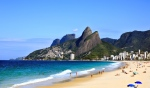 Leblon Beach I Not at the Olympics? Live Vicariously Through Our Brazilian Beach + Bikini Guide
