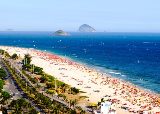 Barra Beach I Not at the Olympics? Live Vicariously Through Our Brazilian Beach, Bikini & Hotel Guide