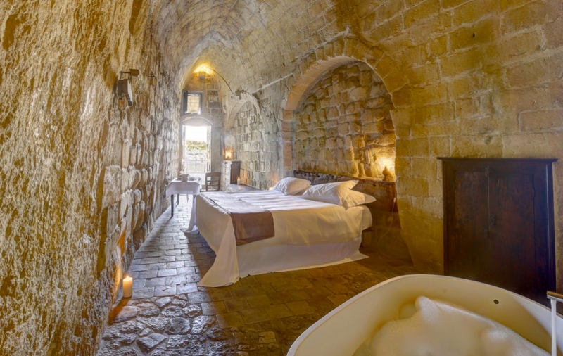 Le Grotte della Civita, Matera, Italy I 7 Cave Hotels to Get Cozy In This Fall