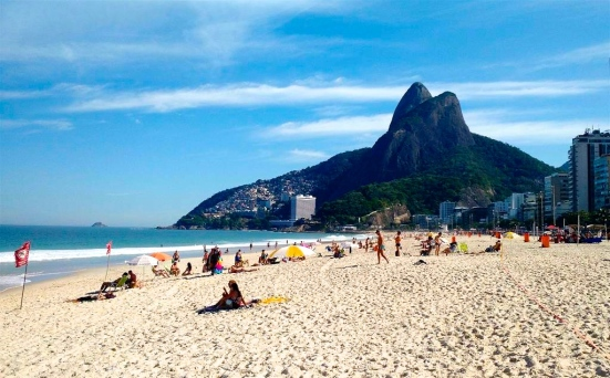 Leblon Beach I Not at the Olympics? Live Vicariously Through Our Brazilian Beach, Bikini & Hotel Guide