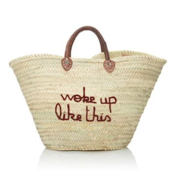 Moda Operandi Straw Beach Bag I Not at the Olympics? Live Vicariously Through Our Brazilian Beach, Bikini & Hotel Guide