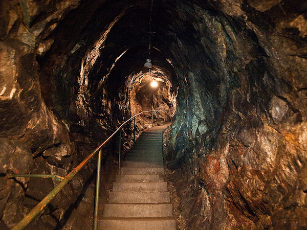 Sala Silvermine, Sweden I Room Service: 7 Cave Hotels to Get Cozy In This Fall I {un}covered